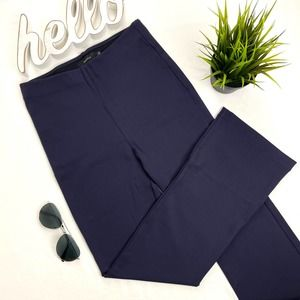 ARITIZIA TULULA Cropped Stretch Pull on Pant Navy